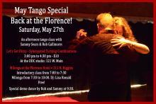 Sam & Rob Dancing Argentine Tango